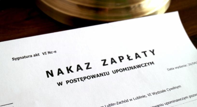Czym jest nakaz zapłaty? - Białystok Adwokat Sylwia Tokarzewska-Cybulko